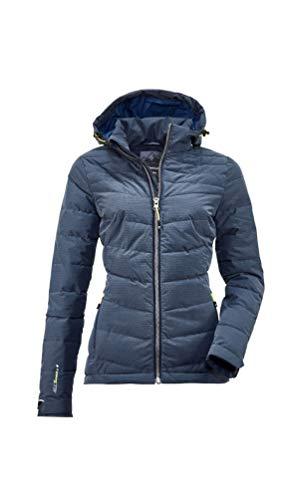 Killtec Damen Skane WMN Quilted JCKT A Jacke In Daunenoptik Mit Abzippbarer Kapuze, dunkelnavy, 42