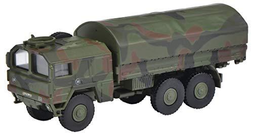 Schuco Man 7t GL Bundeswehr, Modellauto, Maßstab 1:87, Flecktarn, 452652500