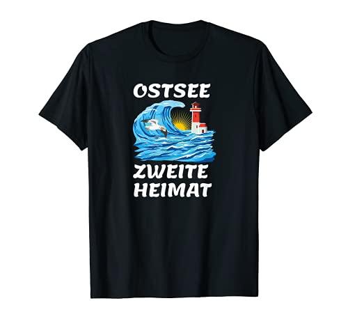 Ostsee moin, Ostsee fan. Statement Ostseeliebhaber T-Shirt