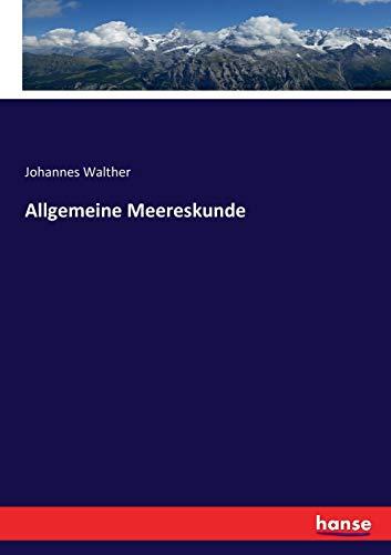 Allgemeine Meereskunde
