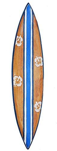 Interlifestyle Surfbrett 100cm Deko Surfer Surfboard Tiki Südsee Neu
