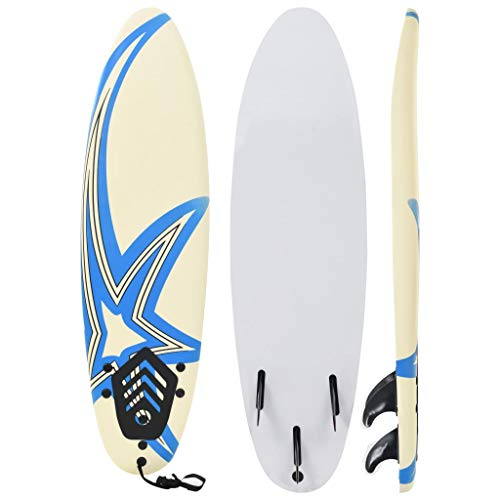 vidaXL Surfbrett 170cm Stern Stand Up Board Shortboard Surfboard Wellenreiter