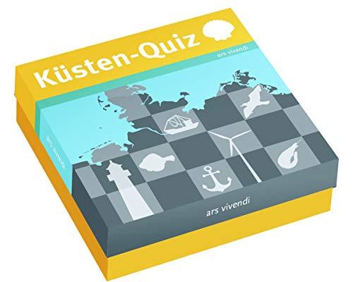 Das Küsten-Quiz: 66 Fragen rund um das Küstengebiet Deutschlands. (Ostsee, Nordsee, Borkum,Sylt, Rügen, Fehmarn, Usedom, Nordfriesland, Ostfriesland)