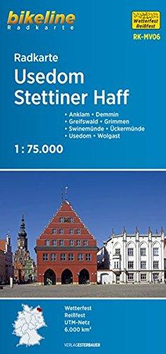 Bikeline Radkarte Vorpommern, Peenetal 1:75 000: Anklam - Demmin - Greifswald - Grimmen - Swinemünde - Ückermünde - Usedom - Wolgast