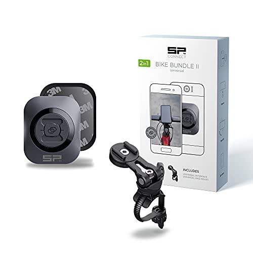 SP Connect Fahrrad-Handyhalterung | Universeller Handyhalter für Fahrradlenker | Fahrradhandyhalterungen für alle Smartphone Handys wie iPhone Samsung | Mountainbike Rennrad Handy Halterung Gadget