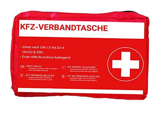 HP-Autozubehör 10039 KFZ -Verbandtasche in Rot