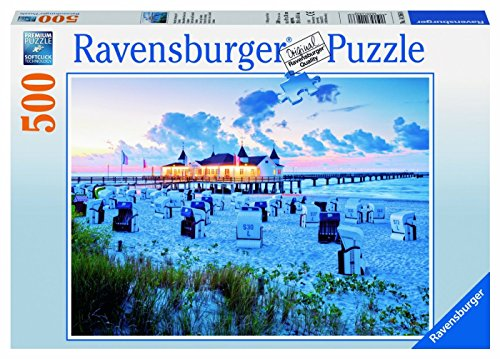 Ravensburger 14266 - Abendstimmung auf Usedom - 500 Teile Puzzle