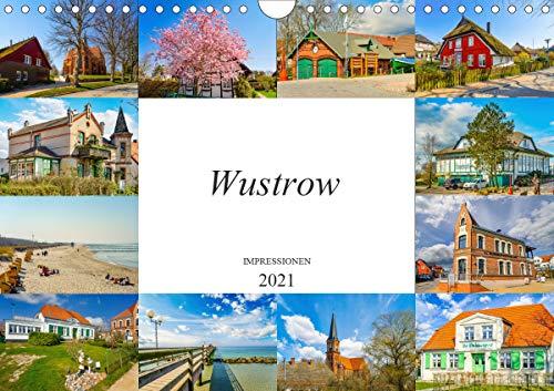 Wustrow Impressionen (Wandkalender 2021 DIN A4 quer)