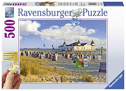 Ravensburger Puzzle 13652 - Strandkörbe in Ahlbeck - 500 Teile