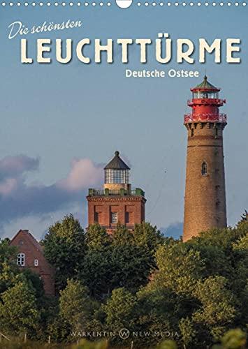 Die schönsten Leuchttürme - Deutsche Ostsee (Wandkalender 2022 DIN A3 hoch)