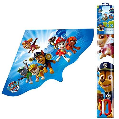 PAW PATROL Einleiner-Drachen 115 x 63 cm   Kinder Flug Drachen aus Folie