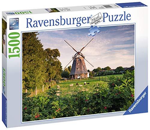 Ravensburger Puzzle 16223 - Windmühle an der Ostsee - 1500 Teile