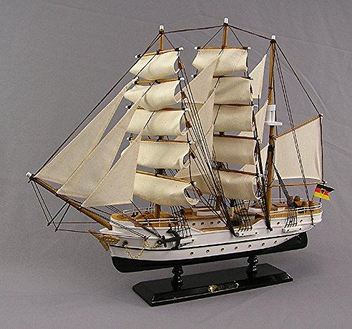 Freier Gorch Fock Segelschiffmodell Modellschiff Schuhlschiff Standmodell Großsegler
