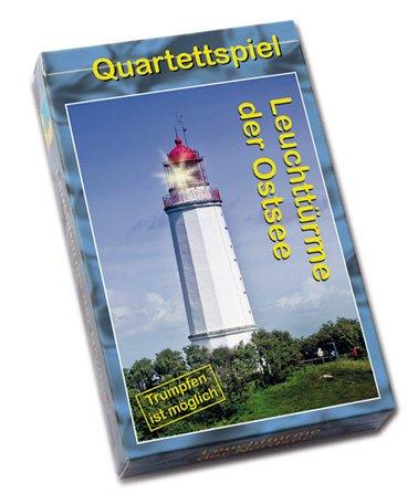 Quartettspiel Leuchttürme der Ostsee