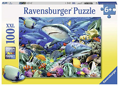 Ravensburger Kinderpuzzle 10951 - Riff der Haie - 100 Teile