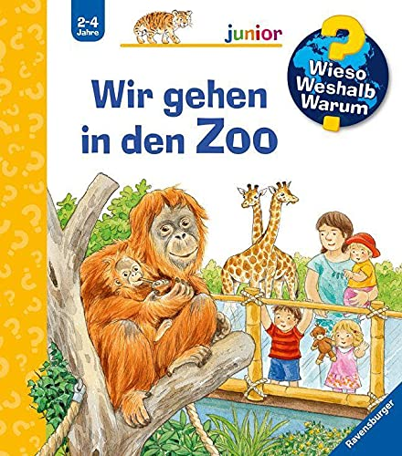 Wieso? Weshalb? Warum? junior: Wir gehen in den Zoo (Band 30) (Wieso? Weshalb? Warum? junior, 30)