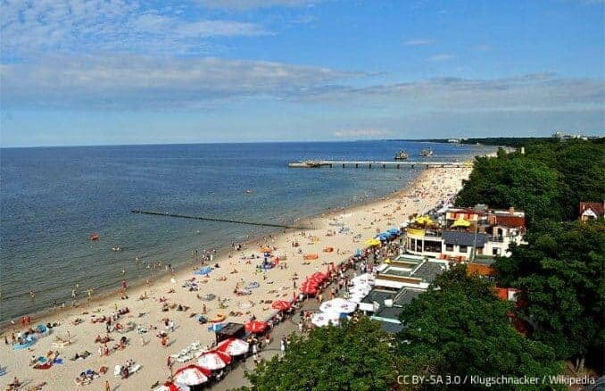 Kolberg an der polnischen Ostsee