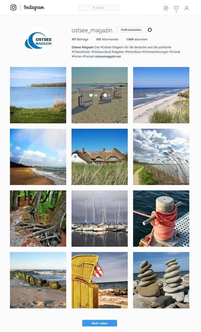 ostsee-magazin-instagram Bilder von der Ostsee