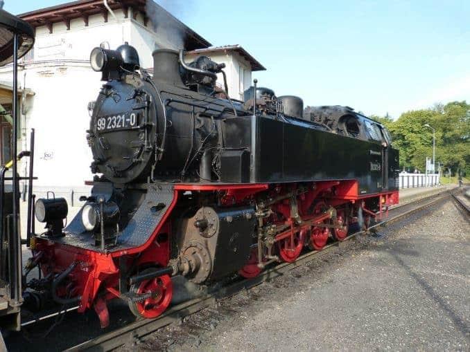 Baederbahn-Molli-Kuehlungsborn-Bad-Doberan-Bild-3 Bäderbahn Molli (Schmalspurbahn) 🇩🇪 Ausflugsziele