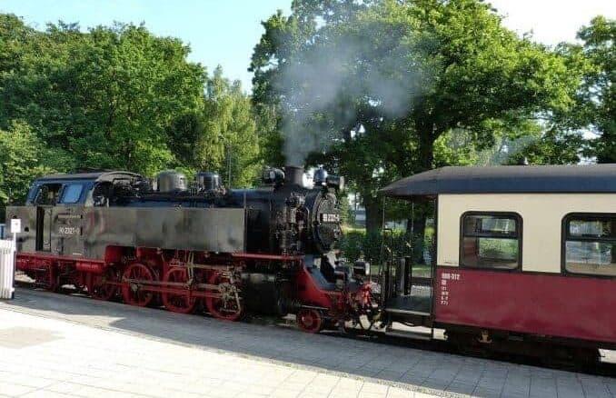 Bäderbahn Molli Kühlungsborn Bad-Doberan Bild 1