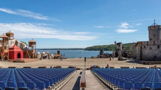 Bühnenbild Störtebecker Festspiele