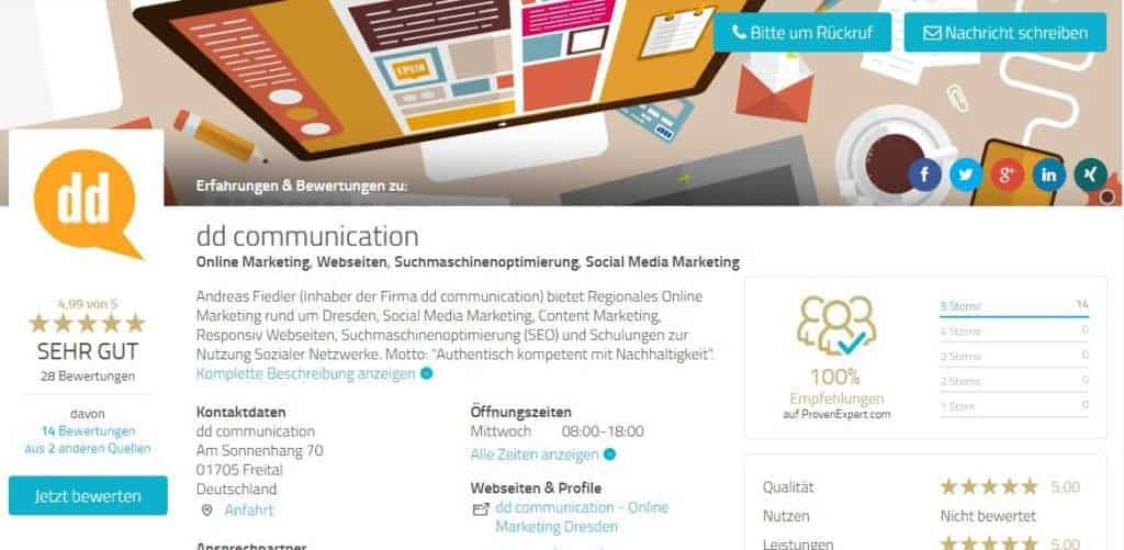 bewertungen-dd-communication-andreas-fiedler-1024x501 Ostsee (SEO) Suchmaschinenoptimierung & Online Marketing