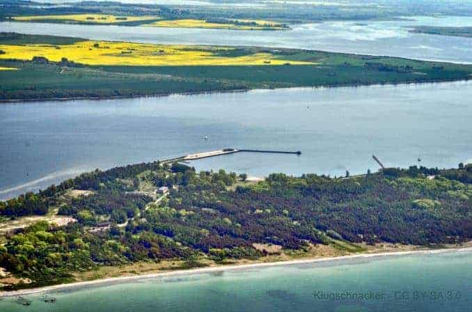 Dranske Rügen Luftaufnahme