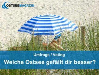 voting-ostsee-umfrage-326x245 Umfrage: Welche Ostsee gefällt dir besser? Umfragen, Wissen & Informationen