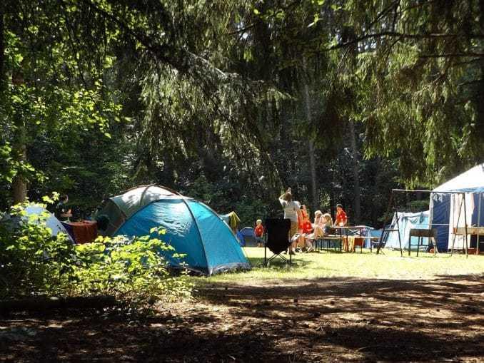 Campinplätze an der Ostsee
