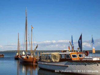 Dierhagen Hafen Ostsee