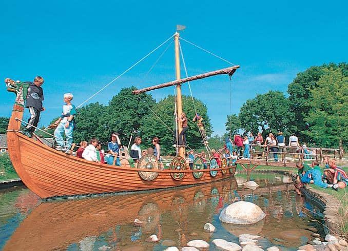 Wikinger auf großer Fahrt im Hansa-Park