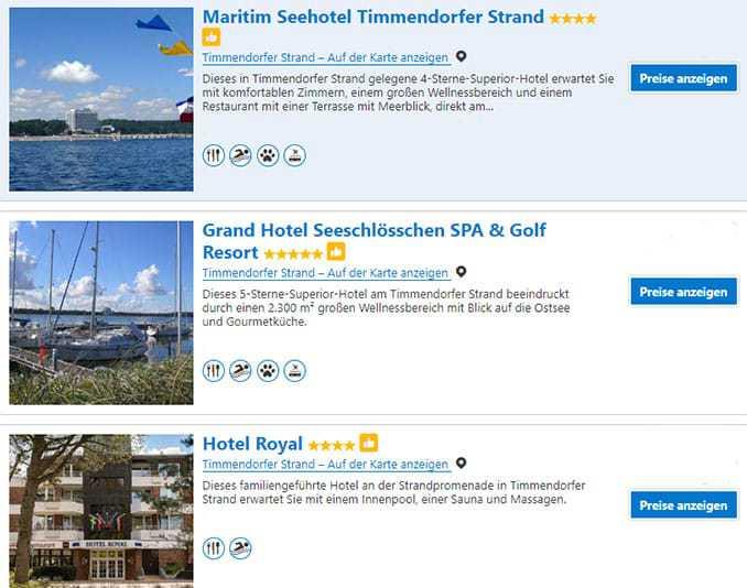 Timmendorfer Strand Hotel