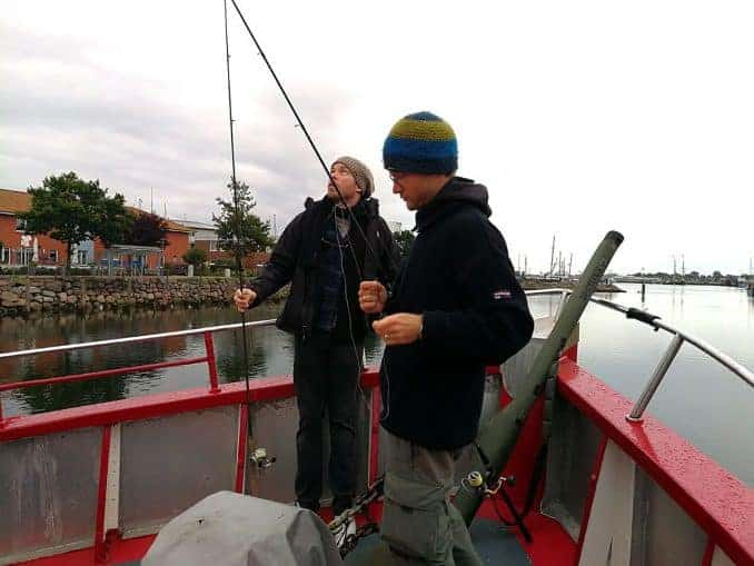 Gespannt auf das Hochseeangeln in Heiligenhafen