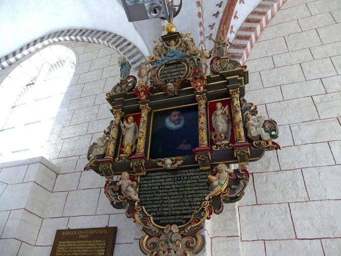 schönes Wandbild in der Kirche