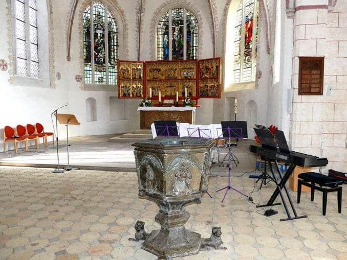 St-Nikolai-Kirche von innen