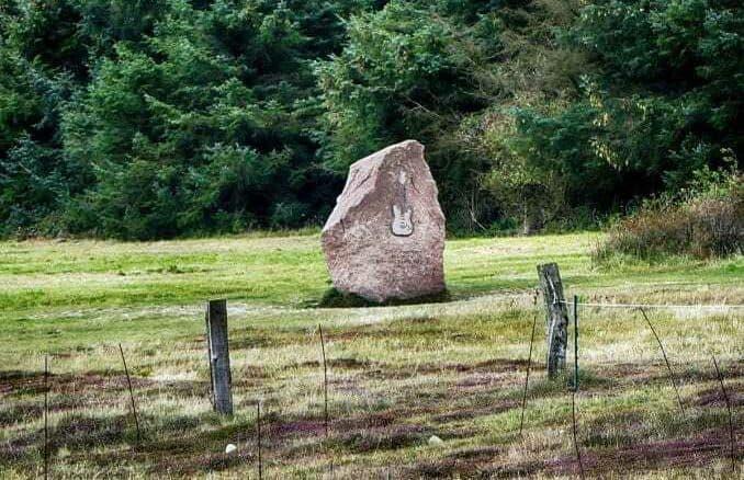 Jimi Hendrix Denkmal Fehmarn