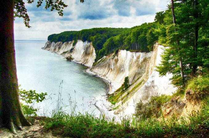 kreidefelsen-ruegen-bild-3 Kreidefelsen Rügen - Nationalpark Jasmund 🇩🇪 Ausflugsziele