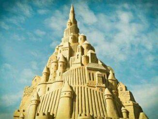 Sandskulpturen Rügen
