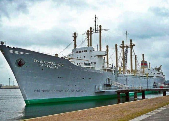 """Traditionsschiff Typ """"Frieden"""""""