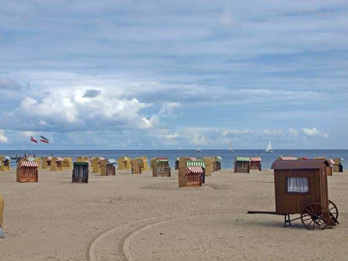 Strand in der Hohwachter Bucht