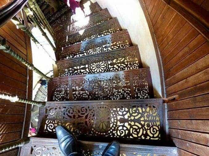 Jagdschloss Granitz – Treppen aus Metall
