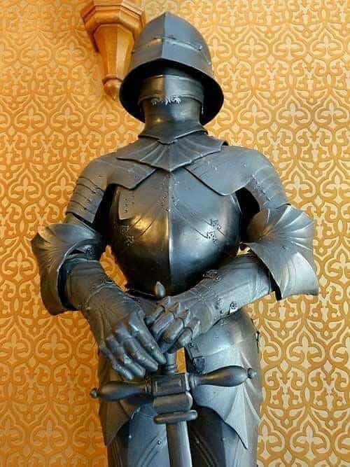Ritterrüstung im Jagdschloss Granitz