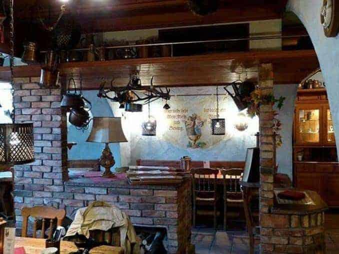 Jagdschloss Granitz – Die Gastronomie