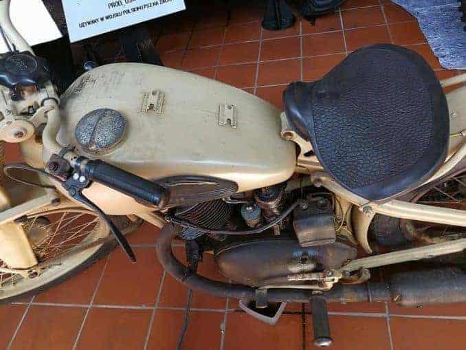 Motorrad Militärmuseum Kolberg - Polish Army Museum
