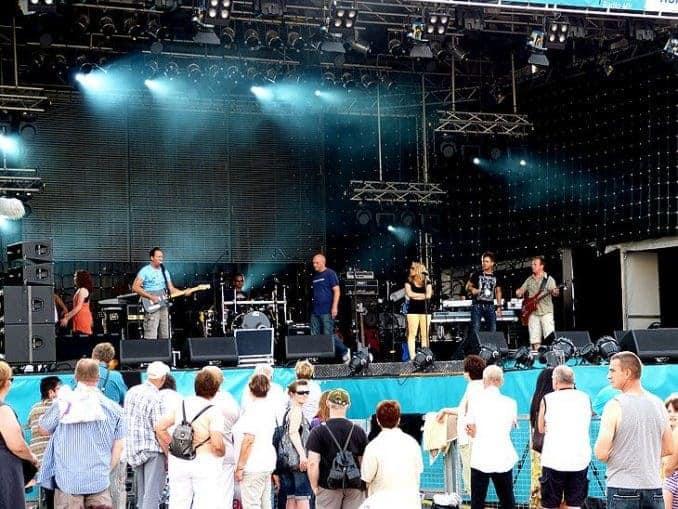 Schwedenfest Wismar Bühne