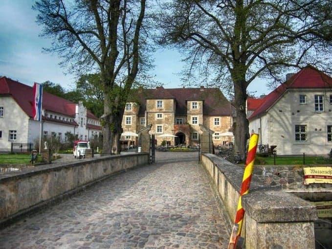 Wasserschloss Mellenthin auf Usedom