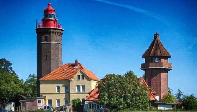 Dahme Leuchtturm Ostsee