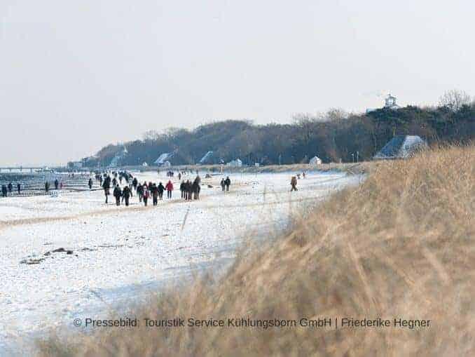 Kühlungsborn Winter Strand