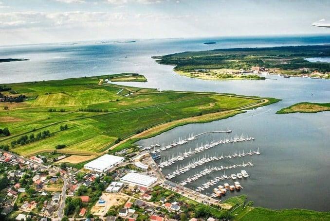 Kröslin im Urlaub erleben - Luftbild