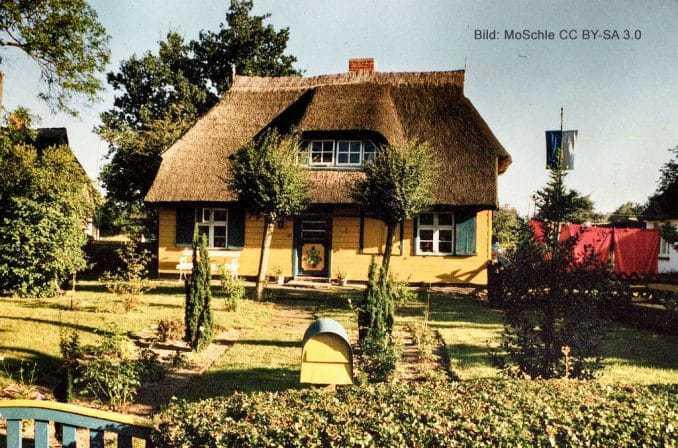Typisches Haus in Born am Darß